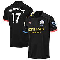 Детская футбольная форма Манчестер Сити DE BRUYNE 17 ( Англия, Премьер Лига ) 2019-2020 выездная, фото 1