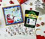 """Подарунки на Миколая, Новий рік, Різдво. Шоколаднй набір з кавою """"Новорічний лист""""., фото 2"""