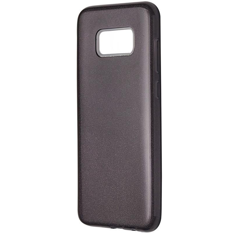 Чехол Silicone Glitter Heaven Rain Samsung S8 (black)