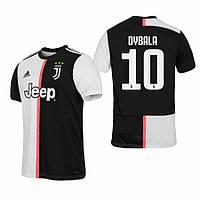 Детская футбольная форма Ювентус DYBALA 10 ( Италия, Серия А ) 2019-2020 основная черно-белая, фото 1