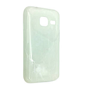 Чехол-накладка DK-Case силикон Мрамор для Samsung J105 (white)