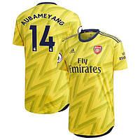Футбольная форма Арсенал/Arsenal AUBAMEYANG 14, выездная, ( Англия, Премьер Лига )2019-2020, фото 1