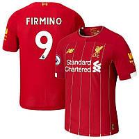 Детская футбольная форма Ливерпуль FIRMINO 9 ( Англия, Премьер Лига ) 2019-2020 основная, фото 1