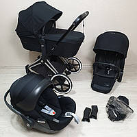 Детская коляска Cybex Priam Lux Black Сайбекс
