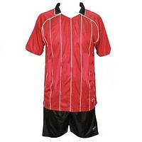 Форма футбольная без номера ZA CO-2555-R (р-р M-XXL, красно-белый)