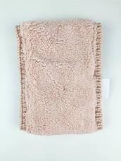 Шапка + снуд для девочки зимняя Драгоценности, розовый Berni, фото 3