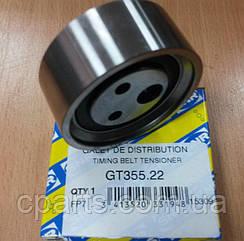 Натяжной ролик ремня ГРМ Renault Sandero 1.4-1.6 до 2010 года (SNR GT355.22)(высокое качество)