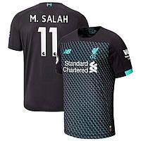 Детская футбольная форма Ливерпуль M. SALAH 11 ( Англия, Премьер Лига ) 2019-2020 резервная, фото 1