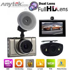 Anytek A100-H відеореєстратор автомобільний HDMI з двома камерами, фото 2