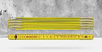 """Деревянный складной метр """"9002"""" 2 метра BMI 972900200"""