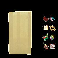 Бумажный пакет без ручек крафтовый 270х140х50мм (ВхШхГ) 40г/м² 100шт (288/1197)