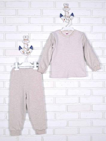 Пижама теплая 98, фото 2
