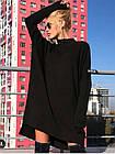 Женское платье ангора черное универсальное, фото 2