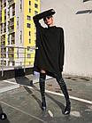 Женское платье ангора черное универсальное, фото 3