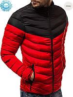Мужская зимняя куртка Black/Red, фото 1