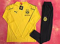 Спортивный (тренировочный) костюм Боруссия Дортмунд желтый, фото 1