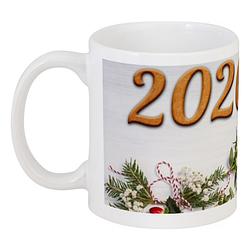 Кружка Новогодняя 2020 (белая)