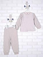 Теплая детская пижама 116-134