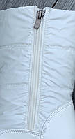 Ботинки женские зимние 8 пар в ящике белого цвета 36-41, фото 4