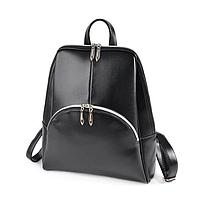 Рюкзак черный женский код 25-207