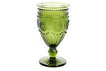 Бокал для вина, цвет - оливковый, 360мл