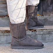 Женские угги в стиле UGG Australia Short II Grey