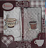 Набор кухонных полотенец Juanna Coffee 2-ка Турция коробка