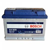 Акумулятор Bosch S4 74AH/680A (S4009)
