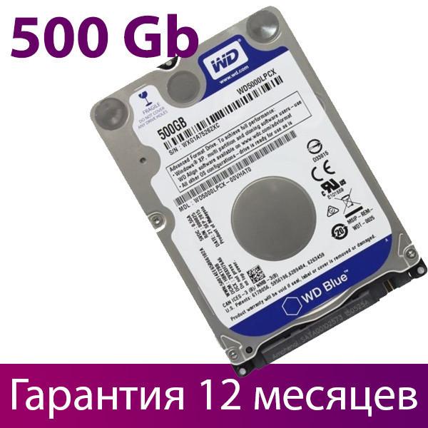 "Жесткий диск для ноутбука 2.5"" 500 Гб/Gb Western Digital, SATA3, 16Mb, 5400 rpm (WD5000LPCX), винчестер hdd"
