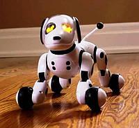 Реалистичная интерактивная Собака-робот на пульте управления с функцией переворота