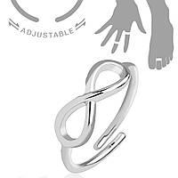 """Кольцо на фалангу """"Бесконечность"""" R-A022"""