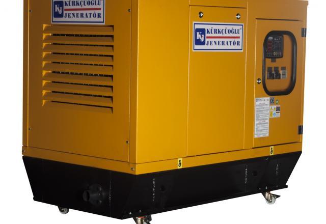 Трехфазный дизельный генератор KJ Power KJD460 (370 кВт)