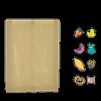 Бумажный пакет без ручек крафтовый 370х220х60мм (ВхШхГ) 40г/м² 100шт (260)