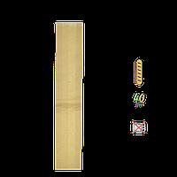 918 Пакет бумажный цельный, крафт 550х100х40мм (ВхШхГ) 40г/м (1уп/100шт)