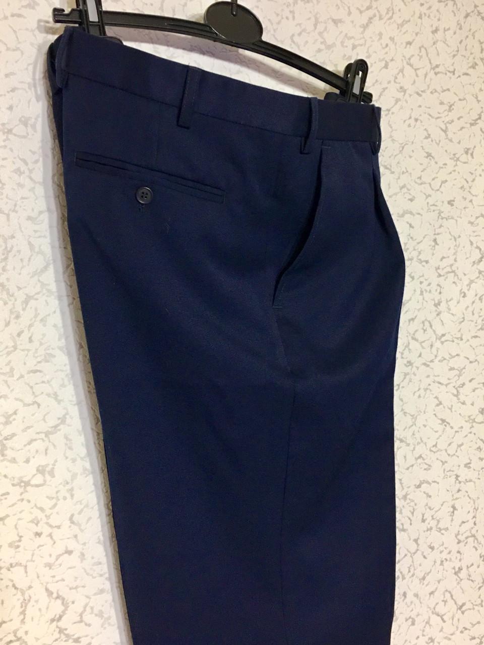 Вовняні штани сині (56)