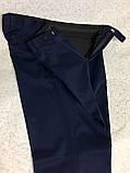 Вовняні штани сині (56), фото 4