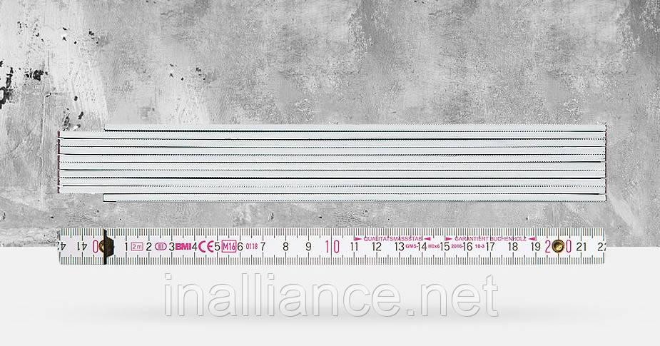 """Деревянный складной метр """"8062"""" 2 метра BMI 979806200"""