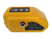 USB адаптер для аккумулятора Dewalt 18V 20V (Powerbank +12V) + Подарок*