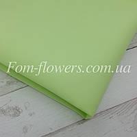 Шелковый фоамиран  50х70 Светло-оливковый