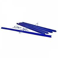 Планки мет., 330 мм син верхн, уп/500