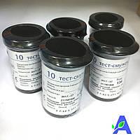 Тест полоски Бионайм GS300 ( Bionime Rightest ) 10 штук срок до 01.10.2019  для глюкометров GM 110 и GM 300