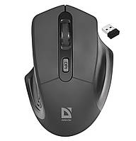Мышка компьютерная DEFENDER Datum MM-355 Wireless Black