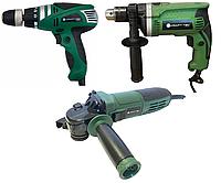 Набор электроинструмента Craft-tec 3в1: Болгарка, Дрель, Сетевой шуруповерт