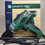 Набір електроінструменту Craft-tec 3в1: Болгарка,Мережевий шуруповерт, Лобзик., фото 4