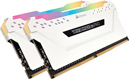Оперативная память CORSAIR VENGEANCE RGB PRO 16GB (2x8GB) DDR4 3200MHz C16 (CMW16GX4M2C3200C16W)