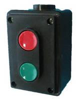 Пост кнопочный SLA4-2 10A 230/400B (1 красная NO+NC + 1 черная NO+NC) Solard