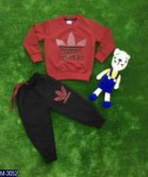 Модный детский для мальчика  спортивный костюм