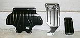 Захист картера двигуна, кпп, диф-ла Subaru Forester 2008-, фото 4