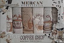 Комплект вафельных кухонных полотенец  Mercan Coffee ShopТурция