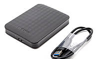 "Внешний жесткий диск Samsung 2 ТБ USB 3.0 3.5"" STSHX-D201TDB Black"
